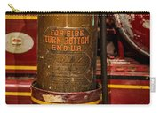 Antique Fire Extinguisher Carry-all Pouch