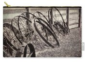 Antique Wagon Wheels I Carry-all Pouch