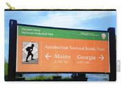 Appalachian National Scenic Trail Carry-all Pouch