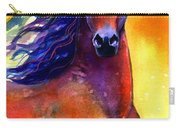 Arabian Horse 1 Painting Carry-all Pouch