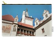 Architecture Details Of Pruhonice Castle Carry-all Pouch