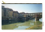 Arno River In Florence Italy Carry-all Pouch