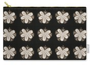 Artistic Sparkle Floral Black And White Graphic Art Very Elegant One Of A Kind Work That Will Show G Carry-all Pouch