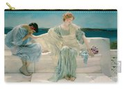Ask Me No More Carry-all Pouch by Sir Lawrence Alma-Tadema