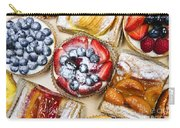 Assorted Tarts And Pastries Carry-all Pouch