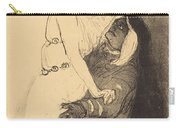 """At The Renaissance: Sarah Bernhardt In """"phedre"""" (a La Renaissance: Sarah Bernhardt Dans """"ph?dre"""") Carry-all Pouch"""