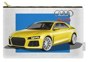 Audi Sport Quattro Concept With 3 D Badge  Carry-all Pouch