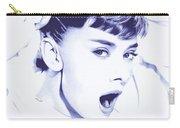 Audrey - Ballpoint Pen Art Carry-all Pouch