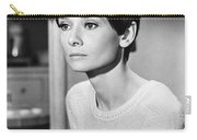 Audrey Hepburn (1929-1993) Carry-all Pouch by Granger
