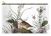 Audubon: Sparrow, (1827-38) Carry-all Pouch