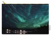 Aurora And Star Trails Carry-all Pouch