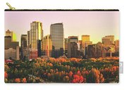 Autumn In Calgary Carry-all Pouch