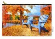 Autumn Splendor Watercolor Carry-all Pouch