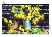 Autumn Sunflowers Carry-all Pouch
