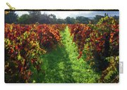 Autumn Vineyard In The Morning  Carry-all Pouch