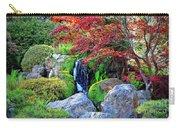 Autumn Waterfall - Digital Art 5x3 Carry-all Pouch