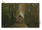 Avenue Of Poplars In Autumn Nuenen, October 1884 Vincent Van Gogh 1853 - 1890 Carry-all Pouch
