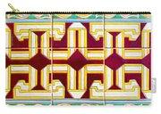 Azulejo - Geometrical Decoration  3 Carry-all Pouch