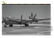 B29 Superfortress Taxiing At Modesto Carry-all Pouch