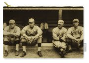 Babe Ruth On Far Left With The Boston Red Sox 1915 Carry-all Pouch