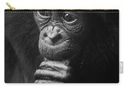 Baby Bonobo Portrait Carry-all Pouch