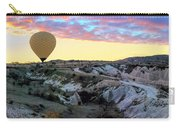 Ballooning At Sunrise No 2 Carry-all Pouch