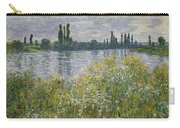 Banks Of The Seine Carry-all Pouch