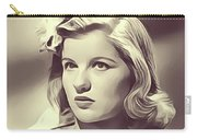 Barbara Bel Geddes, Vintage Actress Carry-all Pouch