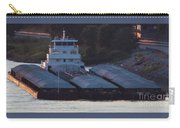 Barge On Mississippi River Carry-all Pouch