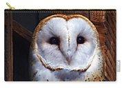 Barn Owl  Carry-all Pouch