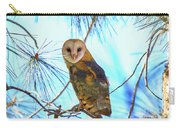 Barn Owl Beauty Carry-all Pouch