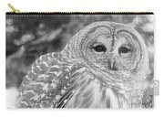 Barred Owl Carry-all Pouch