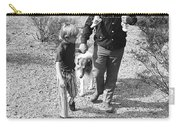 Barry Sadler With Sons Baron And Thor Taking A Stroll 1 Tucson Arizona 1971 Carry-all Pouch
