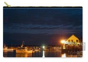 Bass Harbor At Night Carry-all Pouch