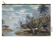 Batrachotomus Dinosaurs -3d Render Carry-all Pouch