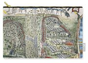 Battle Of Lake George, 1755 Carry-all Pouch