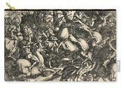 Battle Of Nude Men Carry-all Pouch