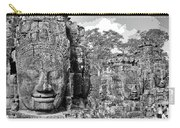 Bayon Faces  Carry-all Pouch