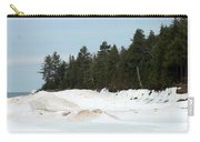 Beach Of Ice Carry-all Pouch