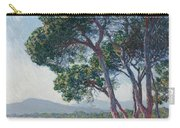Beach Of Juan Les Pins Carry-all Pouch