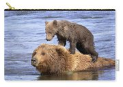 Bear Back Rider Carry-all Pouch