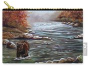 Bear In Fall Carry-all Pouch