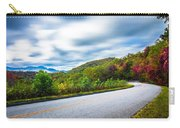 Beautiful Autumn Landscape In North Carolina Mountains Carry-all Pouch