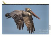 Beautiful Brown Pelican Carry-all Pouch