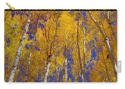 Beautiful Fall Season Nature Renews Itself  Theme Green Trees Reaching For The Sky  Save The Environ Carry-all Pouch