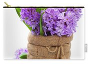 Beautiful Hyacinths Carry-all Pouch