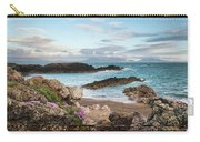 Beautiful Landscape Image Of Rocky Beach With Snowdonia Mountain Carry-all Pouch
