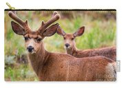 Beautiful Mule Deer Herd Carry-all Pouch