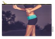 Beautiful Running Girl Carry-all Pouch