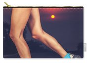 Beautiful Sportive Womens Legs Carry-all Pouch